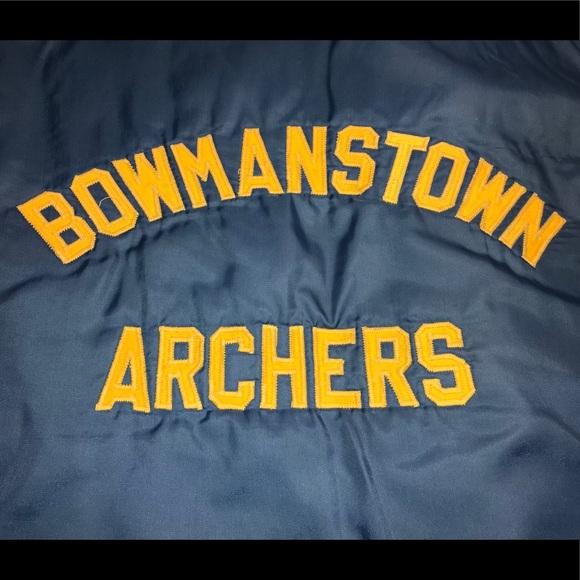 🎯 Vintage Archery Hunting Club Jacket Size Large